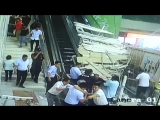Ceiling decoration collapses, injures tourists in northwest China
