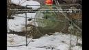 Как поставить и установить профессиональную рыболовную мережу, рыболовный вентерь на водоёме.