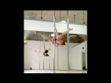 Lyudmila Bukrina. Cartwheel variations. Pole dance tricks   Kats dance studio