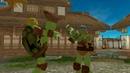 Donatello vs Michelangelo TMNT