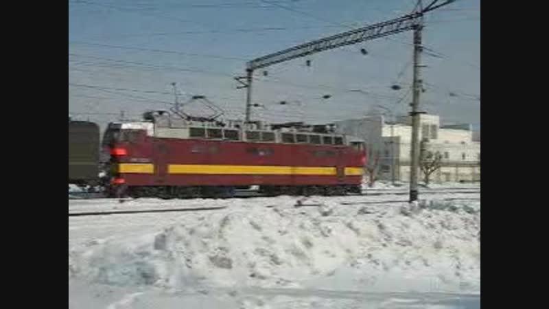 ЧС4Т-322, ст. Казань ГЖД, 2007 г.