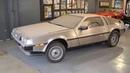 Она простояла 36 лет в гараже. Капсула времени: DeLorean DMC-12 1981-го года