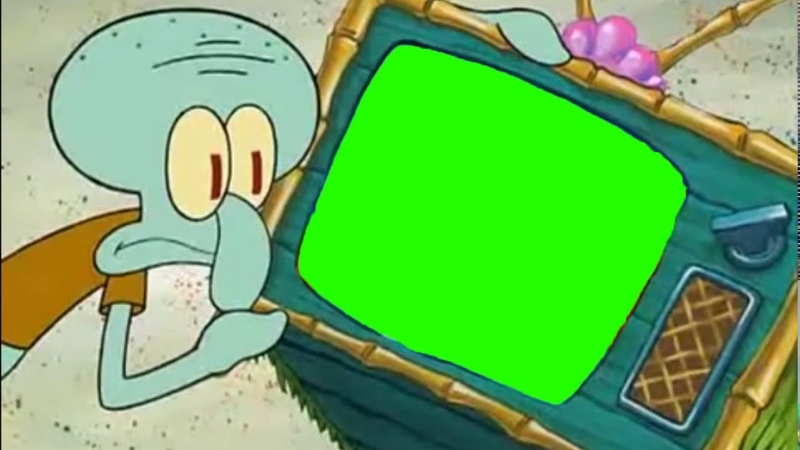 Patrick Hates This Channel Green Screen Edit