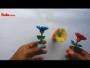 DIY_ Quilling Miniature 3D Flower Pot ! How to Make 3D Flower Pot With Paper