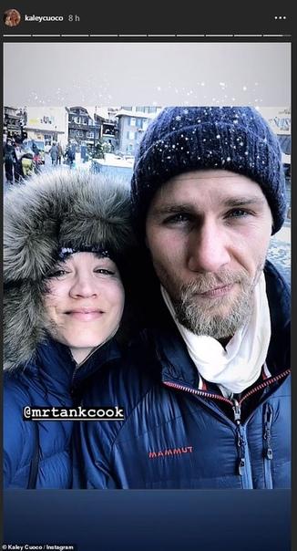Кейли Куоко с мужем Карлом Куком наверстывают пропущенный медовый месяц в Швейцарии