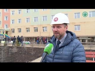 В рабочем порядке. АЛРОСА завершила строительство жилого дома для работников ГДК «Верхне-Мунское»