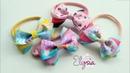 Headband ideas Three Color Ribbon Bow Headband DIY by Elysia Handmade