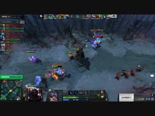 Team Secret vs Forward Gaming, MegaFon Winter Clash, bo3, game 1 [4ce Lex]