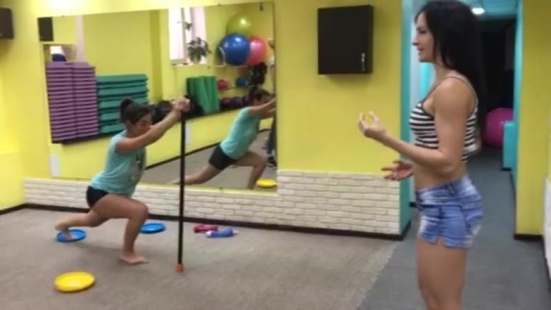 Силовая тренировка с бодибарами и тарелками в 3 сезоне