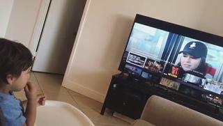 """Δ Erick Brian Colón Δ on Instagram: """"No me canso de ver este video !! 😊👶🏼 El Thiagui súper fan de @ozuna y @cncomusic 🎶 #Quisieraalejarmeremix @yan..."""