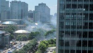 Взрыв у американского посольства в Пекине