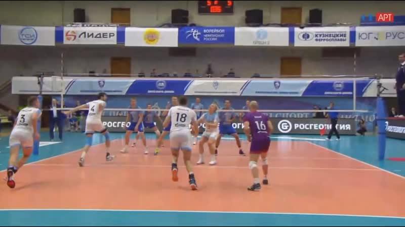 Суперлига 2 тур Пайпы и другие атаки Михайлова в матче с Динамо
