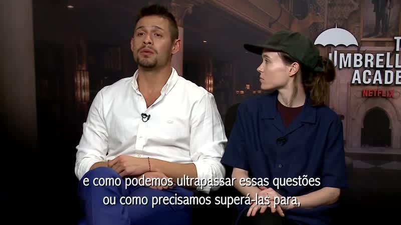 Umbrella Academy Ellen Page David Castañeda Emmy Raver Lampman Tom Hopper