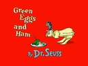 Living Books: Green Eggs and Ham (Read to Me)