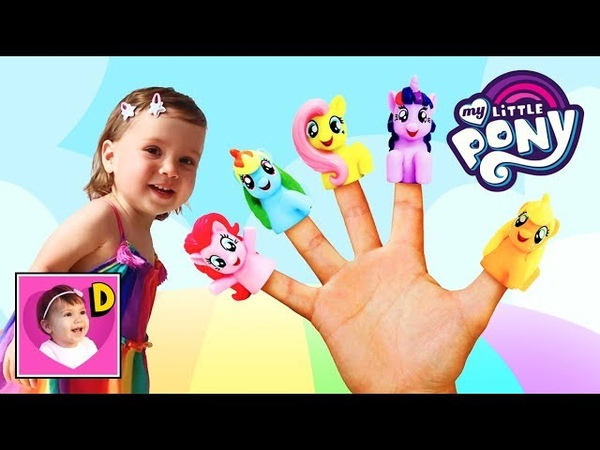 Finger Family Song with My Little Pony Happy Diana
