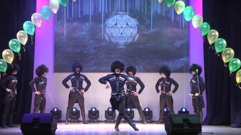 Ансамбль кавказского танца Ловзар. Гала-концерт ДНК в ТПУ 2018