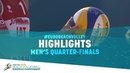Men's Quarter-Finals | Highlights | EuroBeachVolley 2018