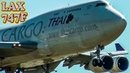 HEAVY BOEING 747 Freighters at LAX
