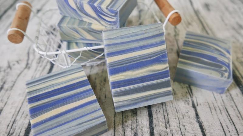 自然流渲母乳皂DIY - flow swirl handmade soap tutorial - 手工皂
