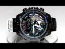 Casio Edifice ECB-800DC-1A Bluetooth Solar powered watch video 2018