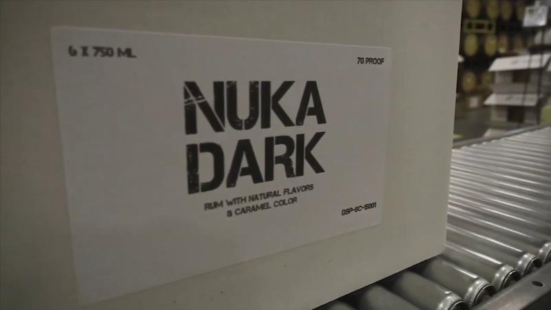 Nuka Dark Rum Bottling - December 2018