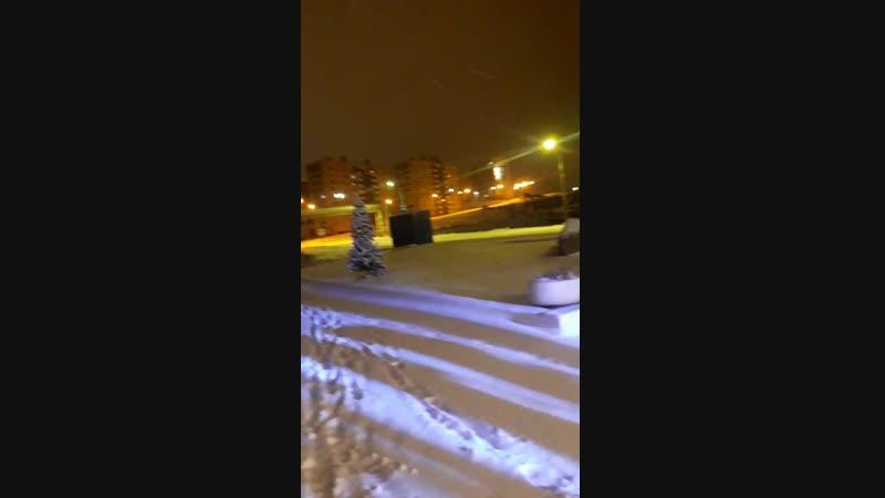Первый снег в Норильске. 16.10.18г.