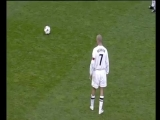 Знаменитый решающий гол Бекхэма со штрафного