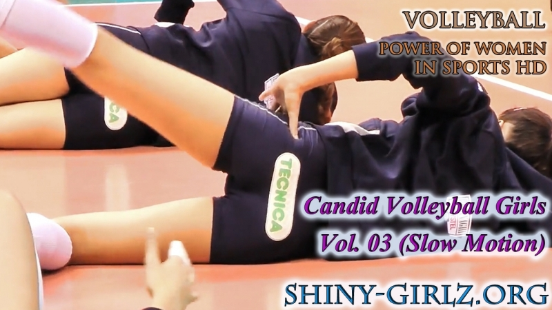 Beauty in Sports Volleyball Vol. 03 (Slow Motion)