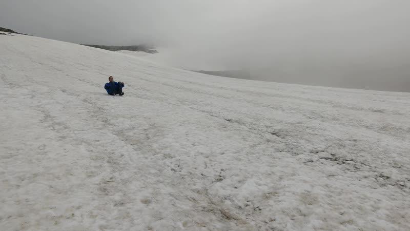 Как быстро спуститься с горы