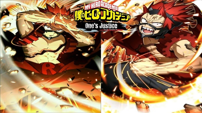 Advanced Eijiro Kirishima Breakdown My Hero Academia One's Justice Mix ups Resets