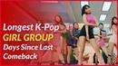 Longest K-Pop Girl Group Days Since Last Comeback