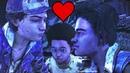 Clementine Flirt With Louis The Prince Charming Ninja - The Walking Dead The Final Season