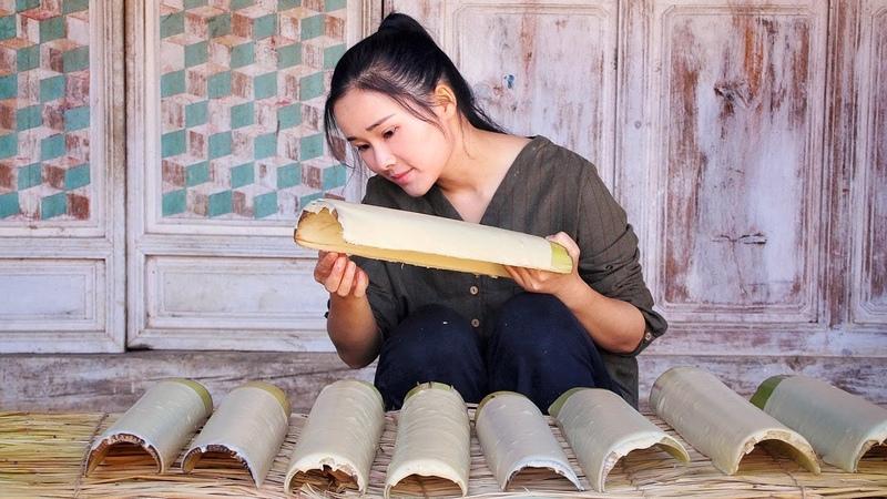 一颗小豌豆的百变吃法:油炸干栏片、稀豆粉米线、豆粉浆,都是美味 65281