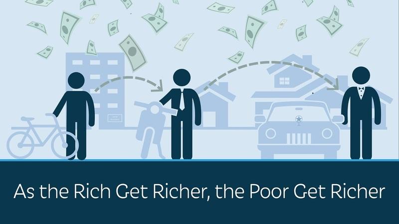 As the Rich Get Richer, the Poor Get Richer