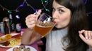 Попьём Пивка 🍺 АСМР Ролевая, Дегустация, Итинг / ASMR Mukbang, Eating
