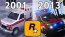 Evolution Of Ambulance in GTA Games 2001 - 2013