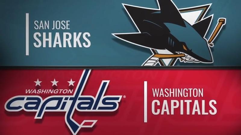 San Jose Sharks vs Washington Capitals | Jan.22, 2019 NHL | Game Highlights | Обзор матча