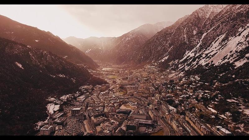 Andorra la Vella Aerial Drone Videos 4K DJI Mavic Pro