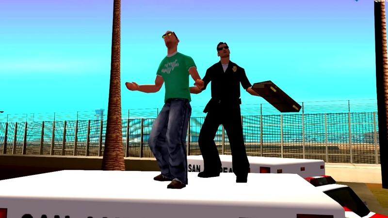 DRP Quartz | Танцы. Или как проводит день Радиоцентр San-Fierro