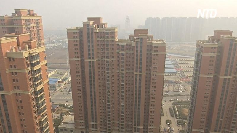 Кризис на рынке недвижимости Китая: в городах строят кварталы-призраки