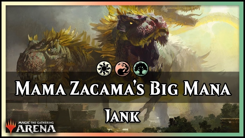 Mama Zacama's Big Naya Mana | Jank Deck [Magic]