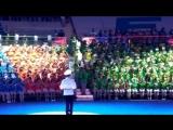 Детский сводный духовой оркестр России в Артеке 22.06.2018 год