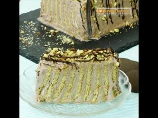 Простой в приготовлении Торт из печенья (без выпечки), за рекордно короткое время! _ Appetitno.TV