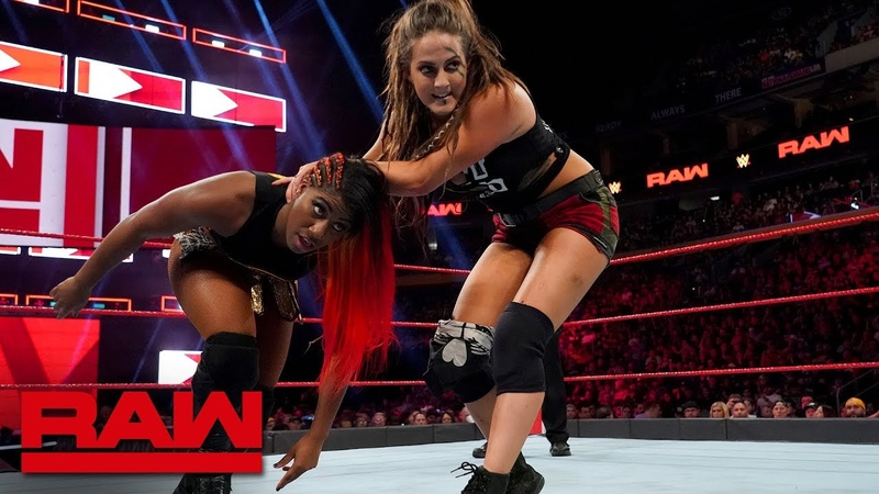 Ember Moon vs. Sarah Logan Raw, July 16, 2018