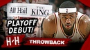 Throwback: LeBron James EPIC Playoff Debut Triple-Double Highlights vs Wizards | 2006 Playoffs