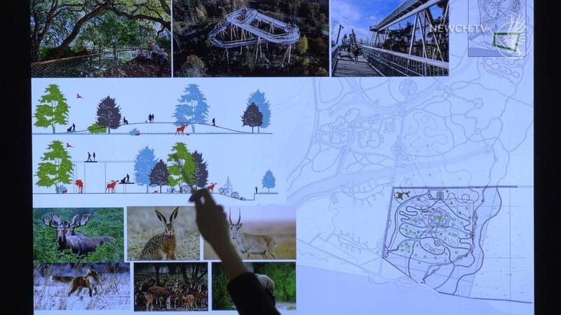 Реконструкція парку відпочинку| Телеканал Новий Чернігів