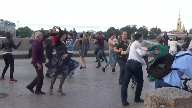 Самба Бальные танцы на Стрелке В О 09 09 2018 г вид 980