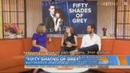 Интервью актеров 50 Оттенков серого на The Today Show