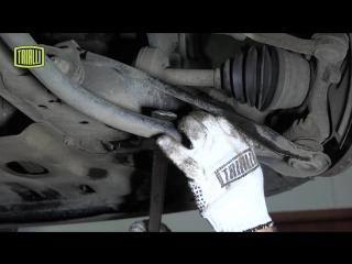 Школа ремонта TRIALLI-стойка стабилизатора Renault Logan и Lada Largus