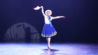 Классический танец Й. Байер. Вариация Французской куклы из балета «Фея кукол».